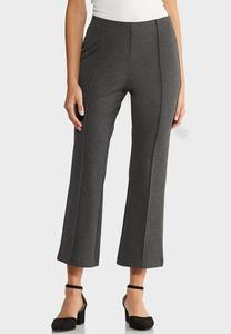 Pintucked Kick Flare Pants