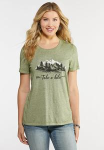 Plus Size Take A Hike Tee