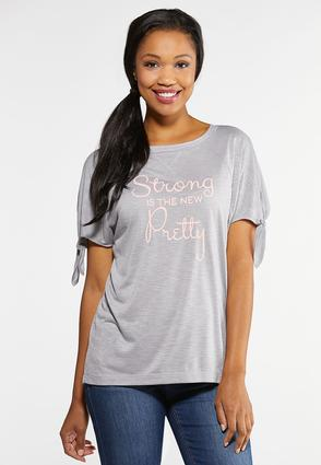 Plus Size Strong Is The New Pretty Tee