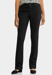 Petite Black Bootcut Jeans