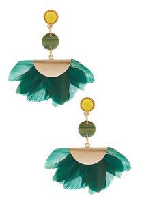 Feather Petal Earrings