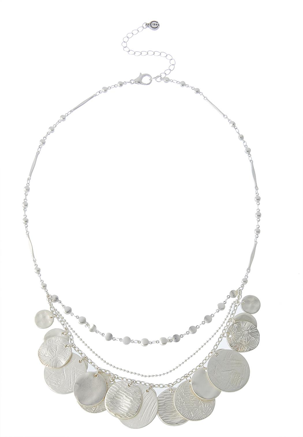 Shaky Coin Layered Necklace