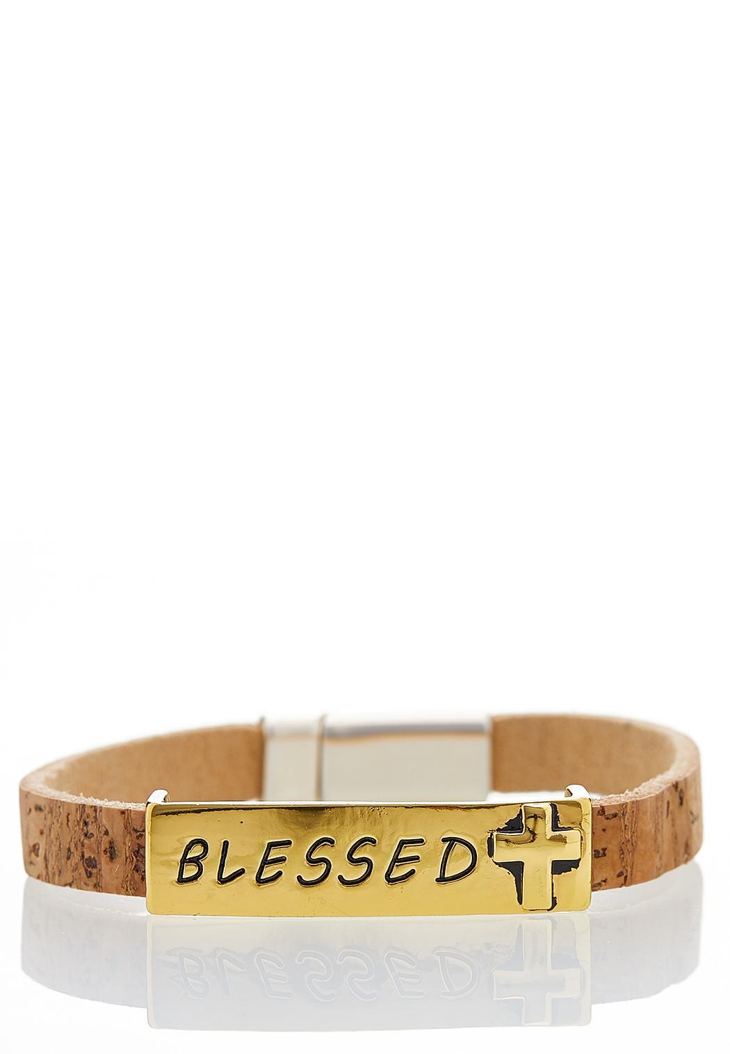 Cork Blessed Wrap Bracelet