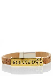 Cork Blessed Wrap Bracelet