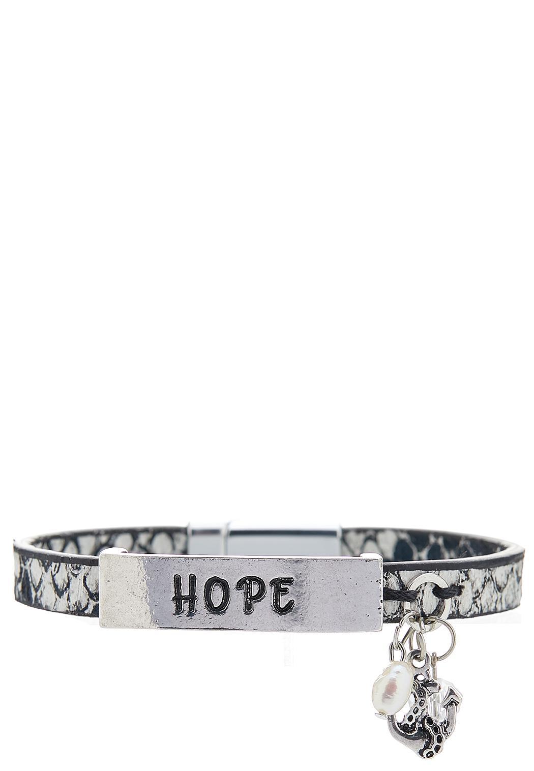 Snakeskin Hope Bracelet