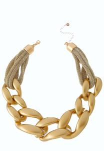 Gold Goddess Cord Necklace