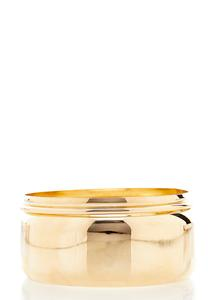 XL Statement Gold Bangle Set