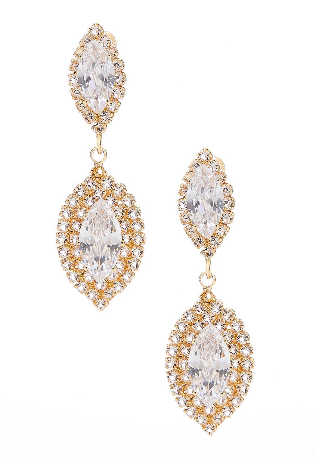 Fairytale Pave Earrings