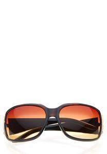 Tortoise Chain Status Sunglasses