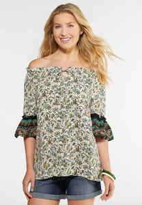 Plus Size Bohemian Poet Top