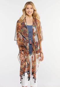 Rustic Paisley Kimono