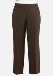 Plus Size Curvy Trouser Pants