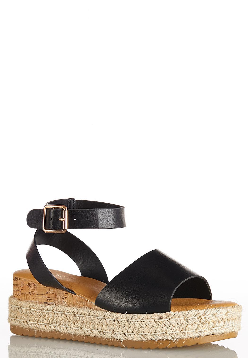 Ankle Strap Flatform Wedges