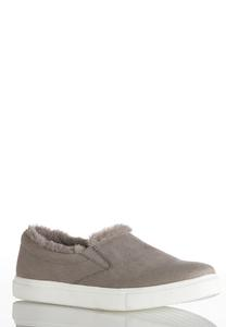 Faux Fur Lined Sneakers