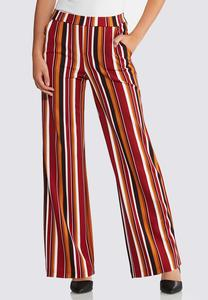 Striped Woven Pants