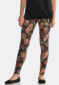 Paisley Clay Leggings