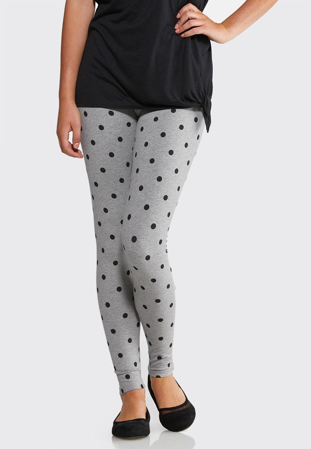 Heathered Dot Leggings