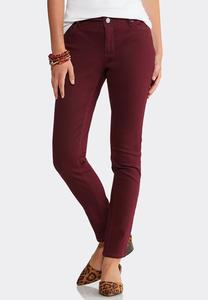 Petite Colored Skinny Denim