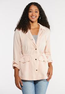 Blush Utility Jacket