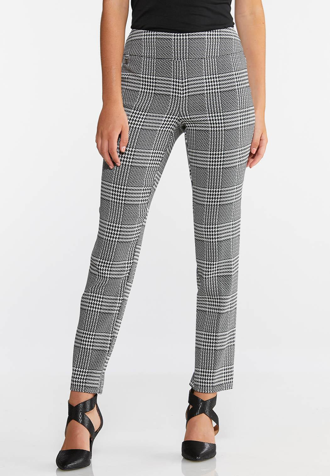Checkered Houndstooth Pants