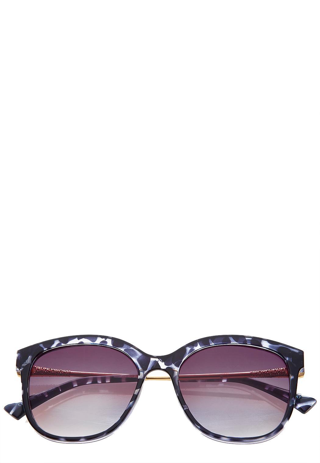 Lucite Tortoise Sunglasses