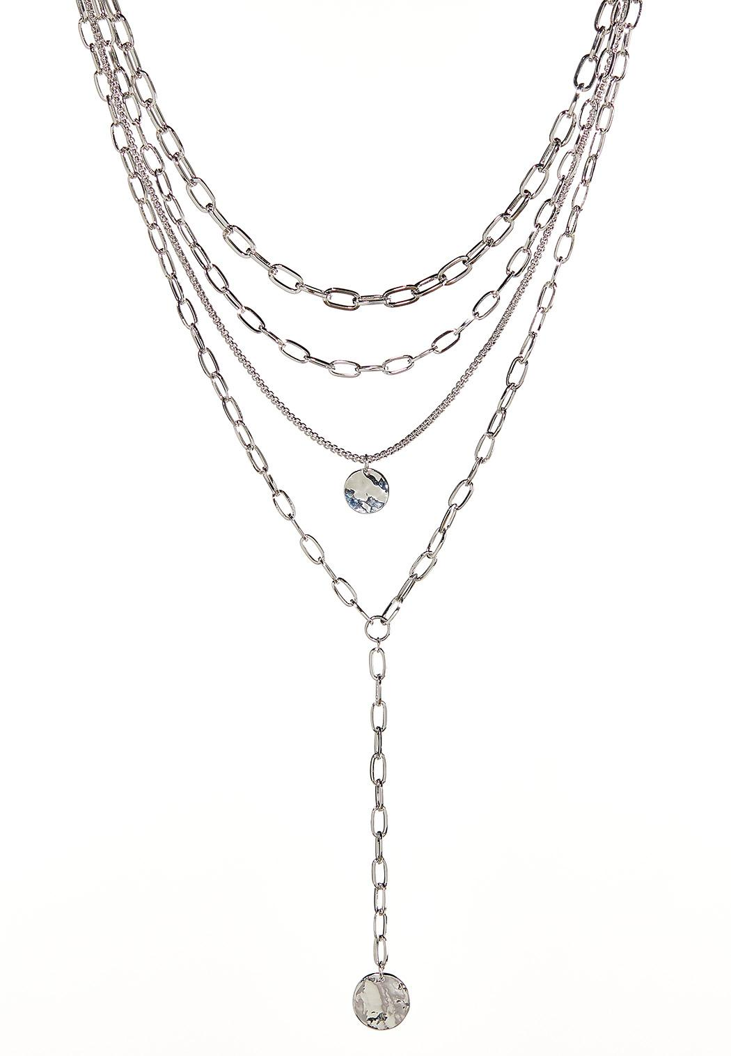 Layered Chain Y-Necklace
