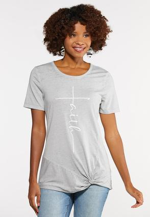 Faith Twist Tee