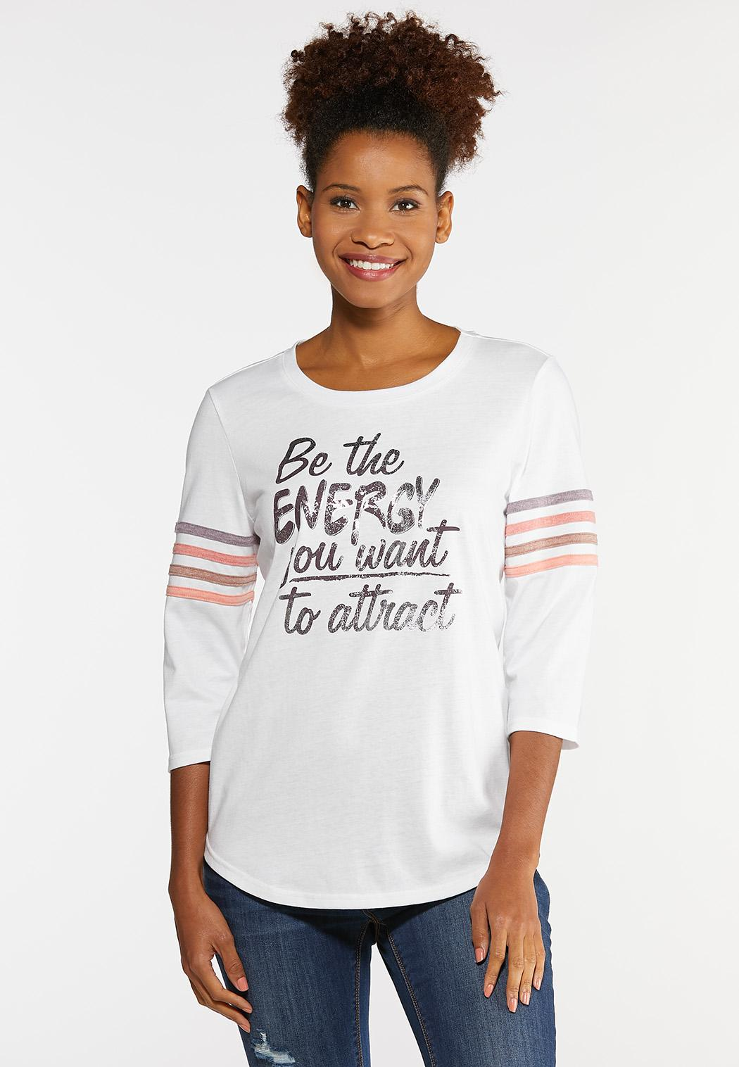 Plus Size Be The Energy Tee