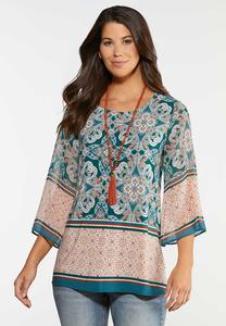 Paisley Bell Top