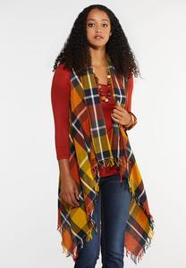 Plus Size Autumn Harvest Vest