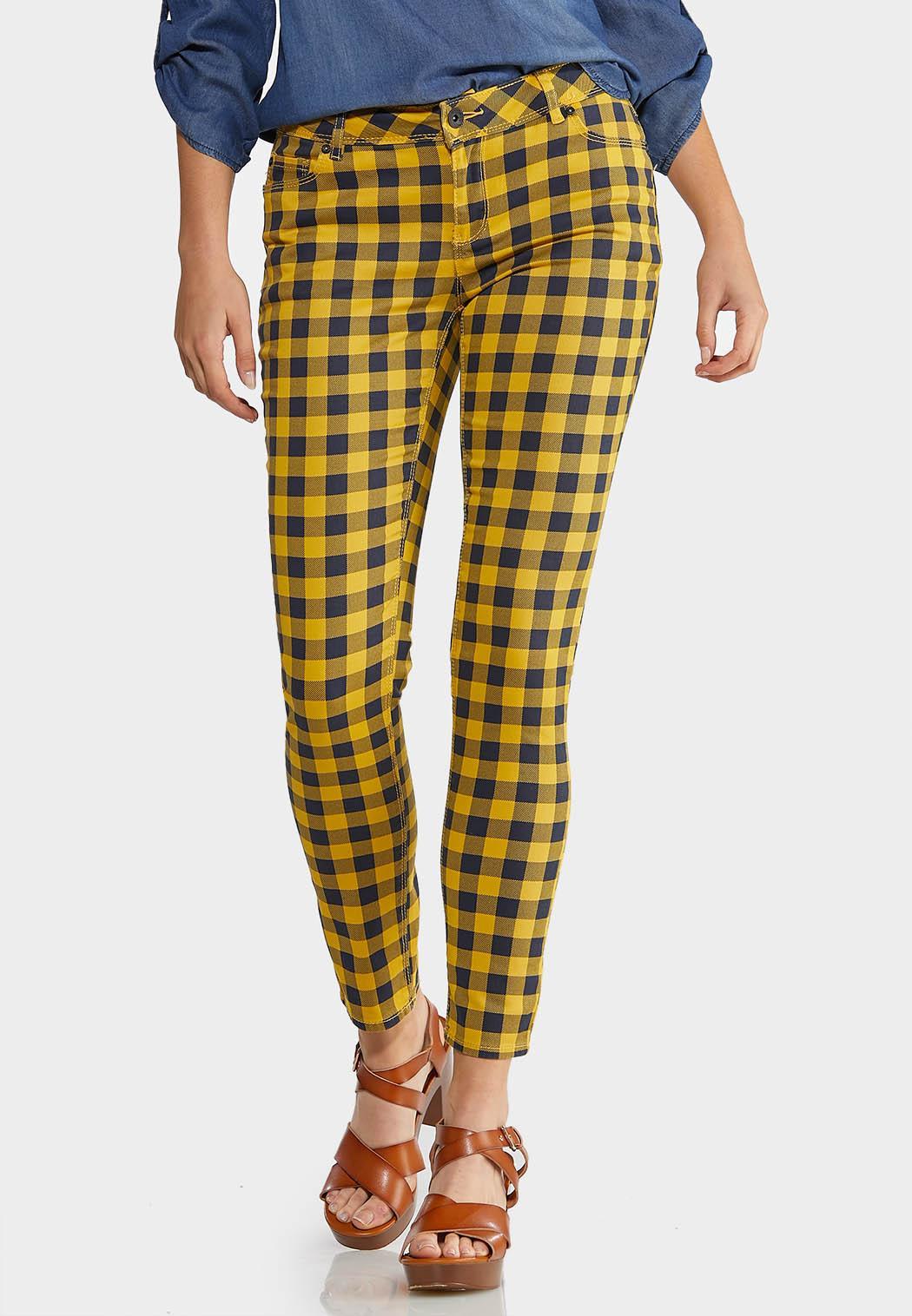 Honey Plaid Pants