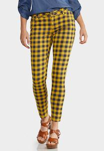 Honey Plaid Pants