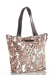 Leopard Floral Insulated Tote