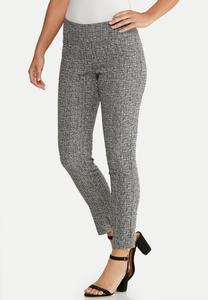 Textured Slim Pants