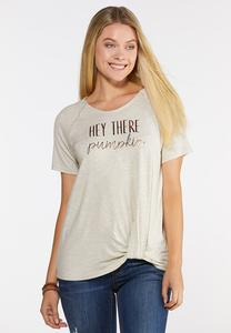 Plus Size Hey There Pumpkin Tee