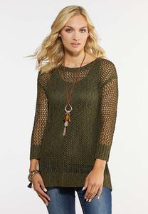 Olive Pullover Sweater