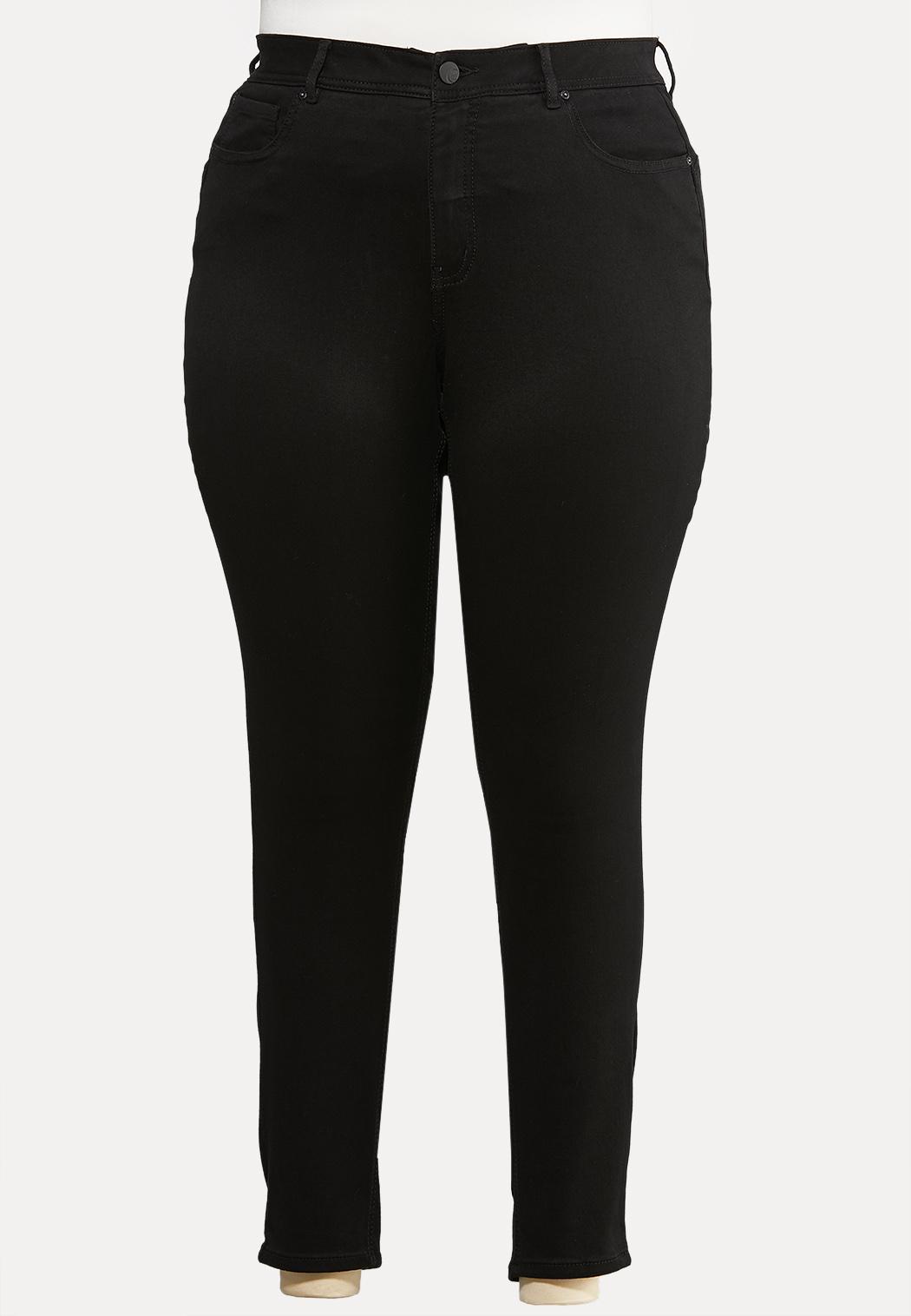 Plus Size The Perfect Black Jean