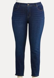 Plus Size Essential Dark Wash Jeans