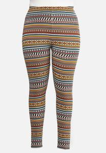 Plus Size Fair Aisle Leggings