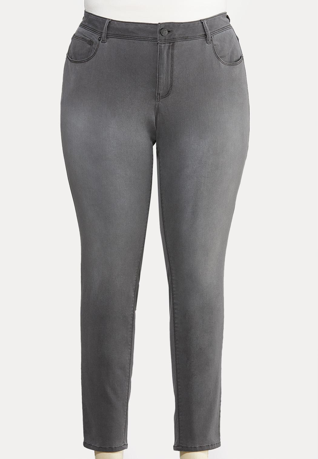 buy online hot-seeling original classic style Plus Size Gray Wash Jeggings