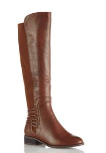 Stretch Calf Riding Boots