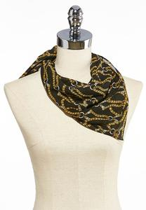 Chain Link Neckerchief Scarf