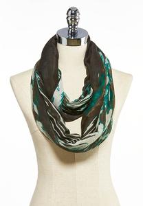 Abstract Zebra Infinity Scarf