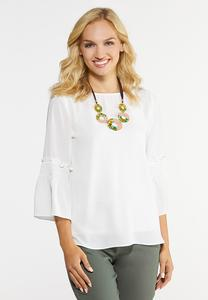 Smocked Bell Top