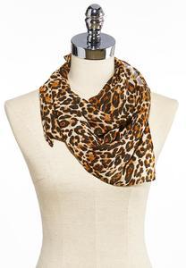 Leopard Neckerchief Scarf