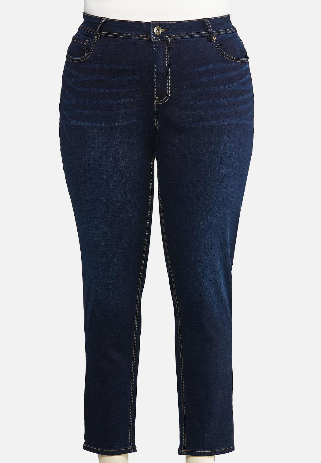 Plus Size Dark Skinny Jeans