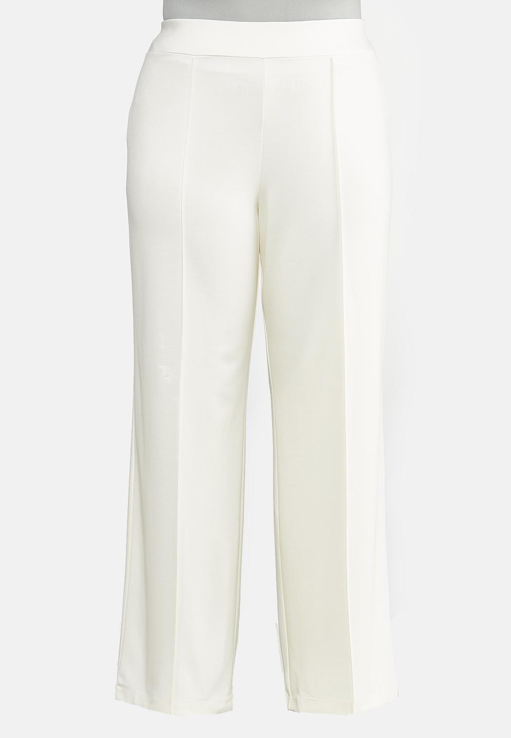Plus Size Wide Leg Ponte Pants Wide Leg Cato Fashions