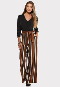 Petite Ruched Sleeve Jumpsuit