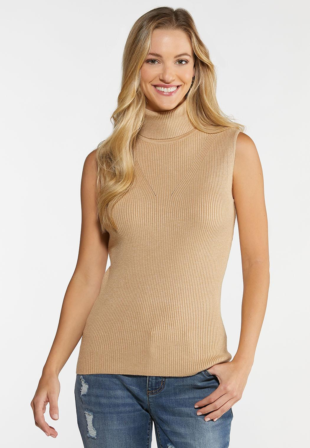 Turtleneck Sweater Tank