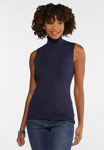 Turtleneck Sweater Tank